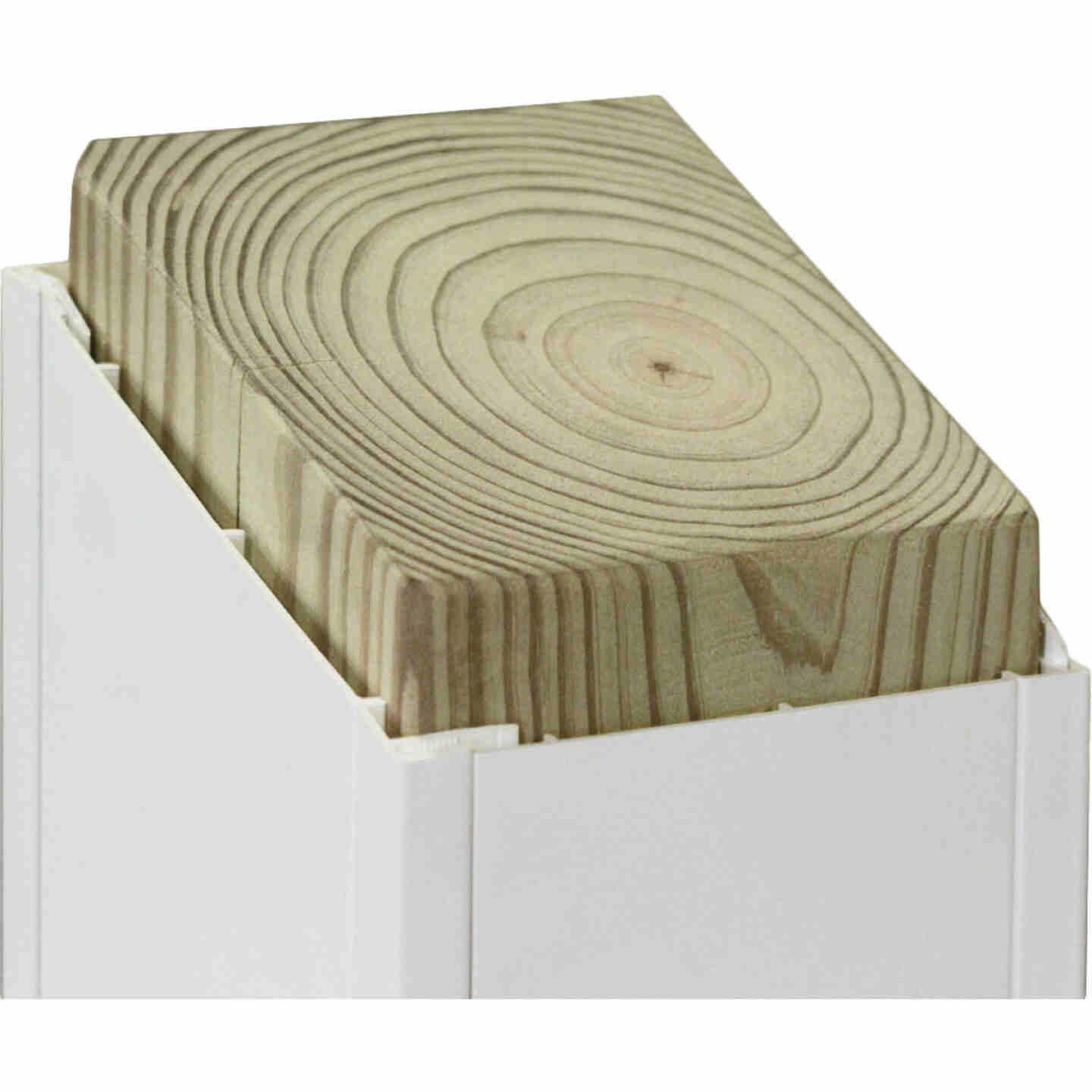 Beechdale 6 In. W. x 6 In. H. x 120 In. L. White PVC Smooth Post Wrap Image 2