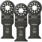 Imperial Blades Starlock 1-3/8 In. 18 TPI Wood/Nail Oscillating Blade (3-Pack) Image 1