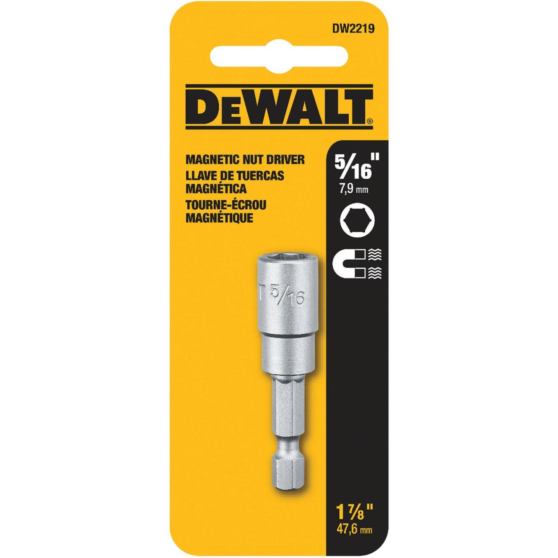 DeWalt Magnetic 5/16 In. x 1-7/16 In. Magnetic Nutdriver Bit Image 2