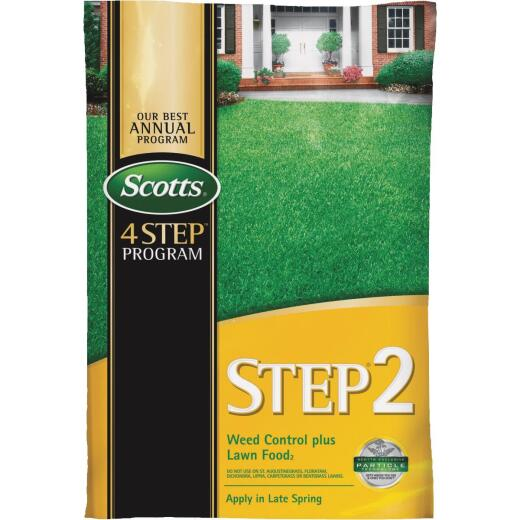 Scotts 4-Step Program Step 2 44.11 Lb. 15,000 Sq. Ft. 28-0-3 Lawn Fertilizer with Weed Killer