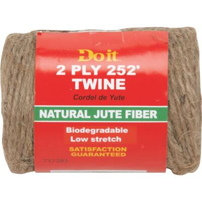 Do it 2-Ply x 252 Ft. Brown Jute Biodegradable Twine