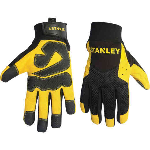 Stanley Men's Medium Synthetic Leather High Performance Glove