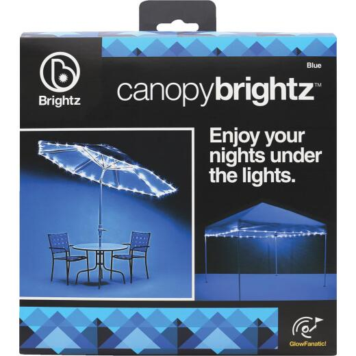 Canopy Brightz 40 Ft. Blue LED Battery Powered Rope Light